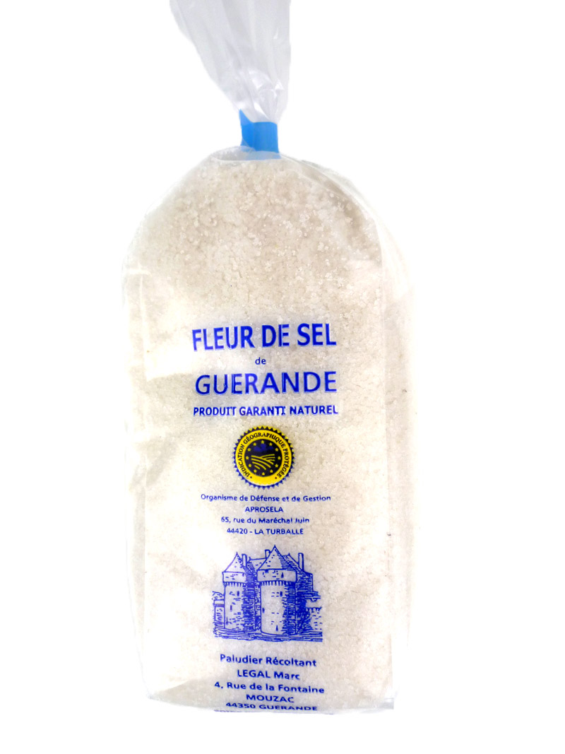 fleur de sel de gu rande 500g fleur de sel bretagne sp cialit s. Black Bedroom Furniture Sets. Home Design Ideas