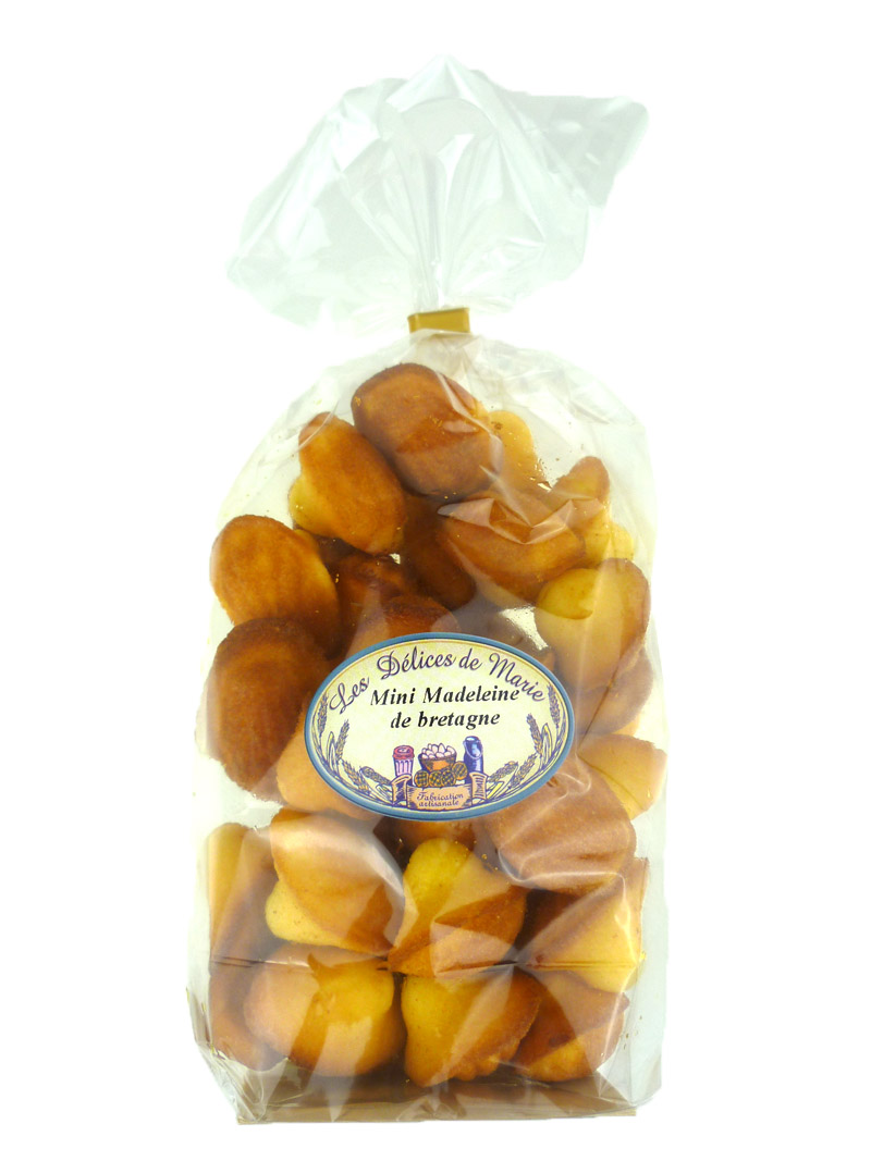 Mini madeleines natures