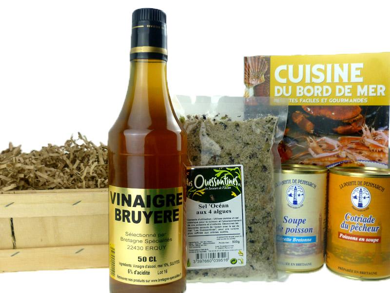 panier cuisine du bord de mer paniers gourmands sal bretagne sp cialit s. Black Bedroom Furniture Sets. Home Design Ideas