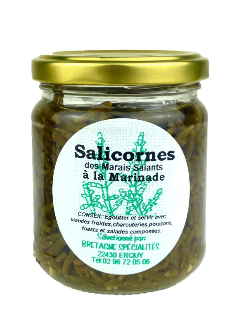 Salicornes la marinade 21cl 130g salicorne bretagne - Cuisiner les salicornes ...