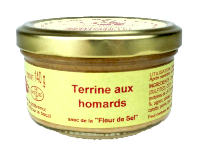 Terrine aux homards