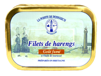 Filets de harengs goût fumé