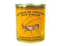 Lot de 2 soupes, océan & langouste