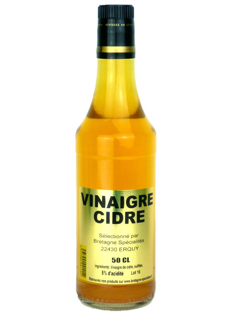 Vinaigre de Cidre 50cl Vinaigres | Bretagne Spécialités