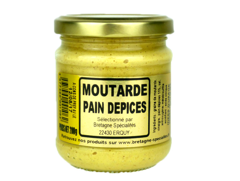 Moutarde au pain d'épices